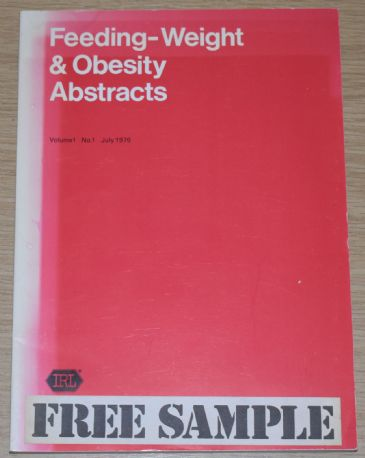 Feeding-Weight & Obesity Abstracts, Volume 1, No.1, July 1976